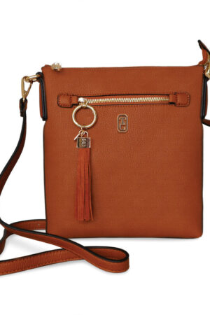 Tipperary Crystal The Chelsea Cross Body bag - Tan