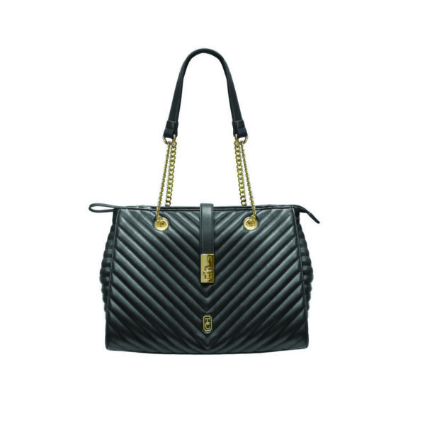 Tipperary Crystal Versailles Shoulder Bag - Black