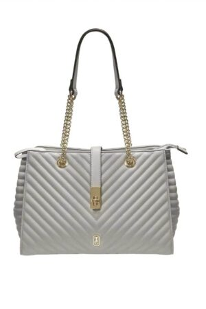 Tipperary Crystal Versailles Shoulder Bag Grey
