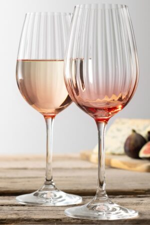 Galway Living Erne Wine Set of 2 - Blush