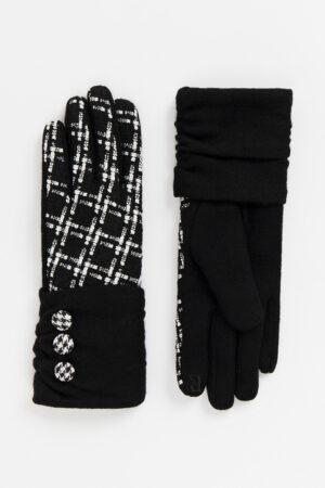 Pia Rossini Libby Glove - Black/White