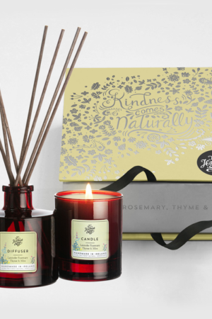 The Handmade Soap Company Candle & Diffuser Set