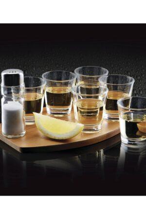 BarCraft Eight Piece Tequila Shot Gift Set