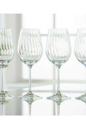 Galway Crystal Erne Wine Set of 4 Glasses