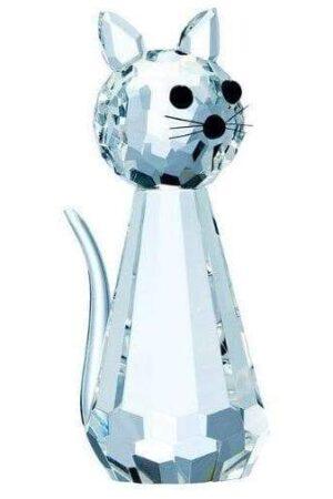 Galway Crystal Standing Cat Figurine