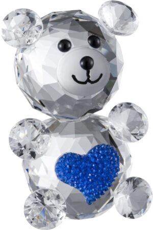 Galway Crystal Blue Love Bear